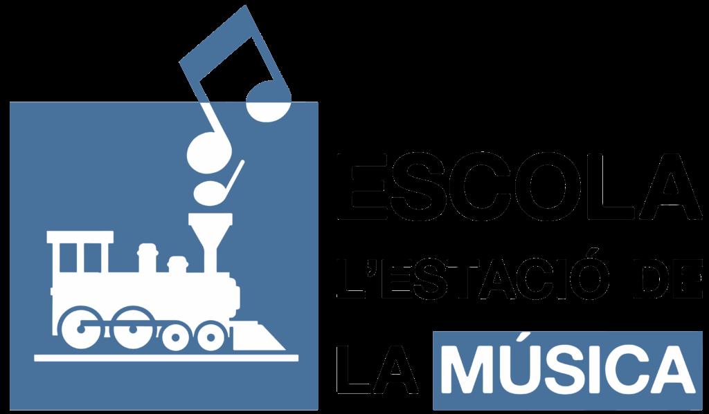 Logo de L'estació de la música